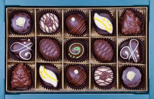 Süßigkeiten Box foto