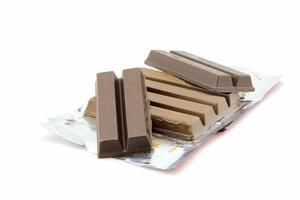 Schokolade, die geschmolzen sind foto
