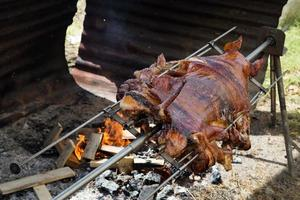 gekochtes Schwein foto