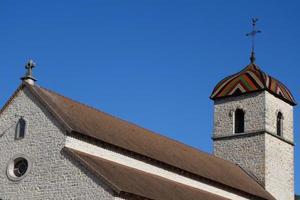 bugey, typische Architektur. foto