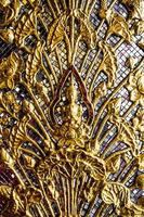 thailändische Skulptur Buddha Bild foto