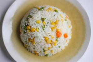 Risotto (Pilav oder Reis) mit Gemüse