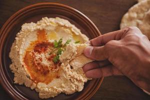 Hummus essen foto