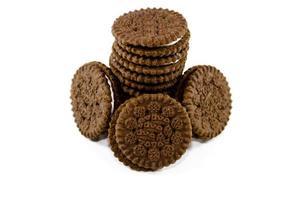frisch gebackene Kekse foto
