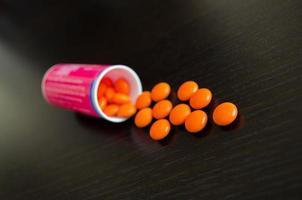 Orangenschalen außerhalb des Rezepts
