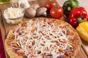 frische Pizza foto