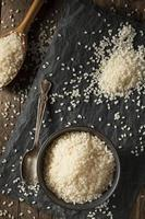 roher weißer Sushi-Reis