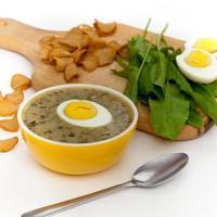 grüne Suppe foto