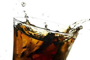 Cola in Glas