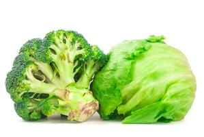 Brokkoli isoliert foto
