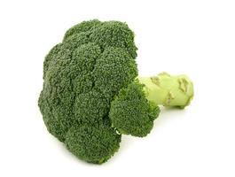 frischer grüner Brokkoli foto