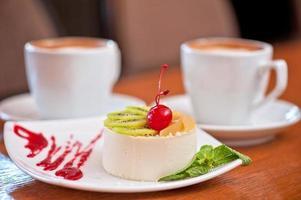 leckeres Dessert foto