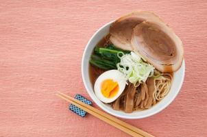 japanische Küche, Ramen foto