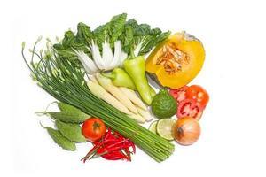 frisches Gemüse für eine gute Gesundheit