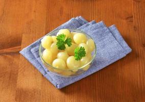 eingelegte Zwiebeln foto