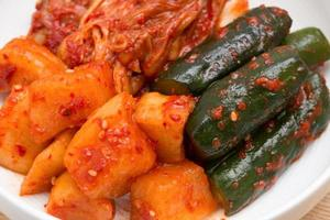 Kimchi sortiert foto