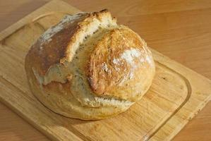 Selbstgemachtes Brot foto