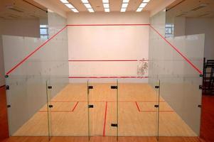 Squash-Platz foto