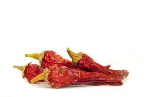 rote Chilis foto