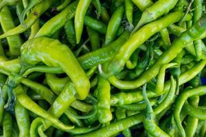 grünes Pfeffer foto