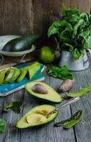 frische Avocado foto
