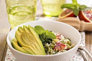 Couscous mit Gemüse foto