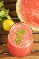 Wassermelonensaft foto