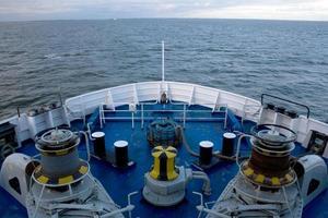 Blick vom Schiff foto