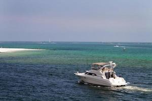Bootfahren im Destin Pass