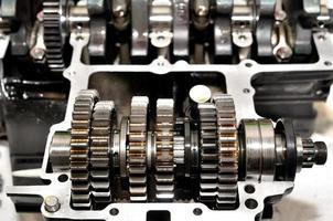 Motorrad-Getriebe. foto