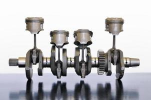 Kurbelwelle für Motorradmotoren foto