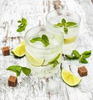 kaltes frisches Limonadengetränk