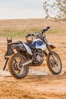 Schmutz Motorrad foto