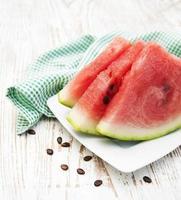 Scheiben Wassermelone