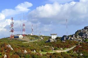 Telekommunikationsstation foto