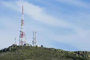 Telekommunikationstürme foto