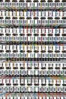 Schalttafel für Telekommunikationssysteme foto