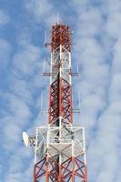 Telekommunikationsmast foto