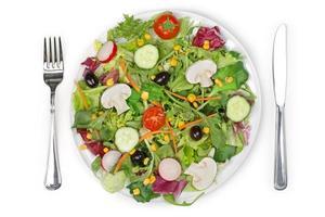 geworfener Salat