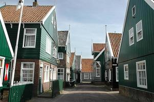niederländisches Dorf foto