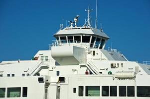Brücke eines Schiffes foto
