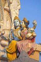 Lakshmi und Vishnu