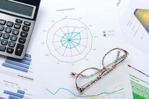 Geschäftsgraph foto