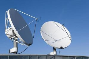 Kommunikationssatelliten foto
