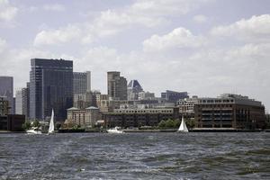 Baltimore, md vom Hafen foto