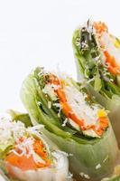 Frühlingsrollen mit Gemüse foto