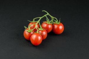 Petersilie Tomaten Gurke Minze foto
