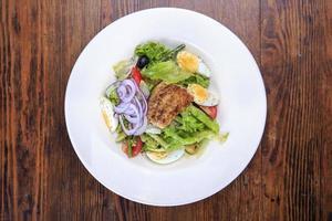 Französisch Salat Nicoise foto