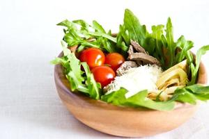 Salat aus Rinderzunge foto