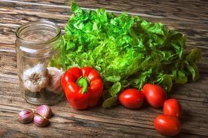 Gemüse - die Zutaten foto